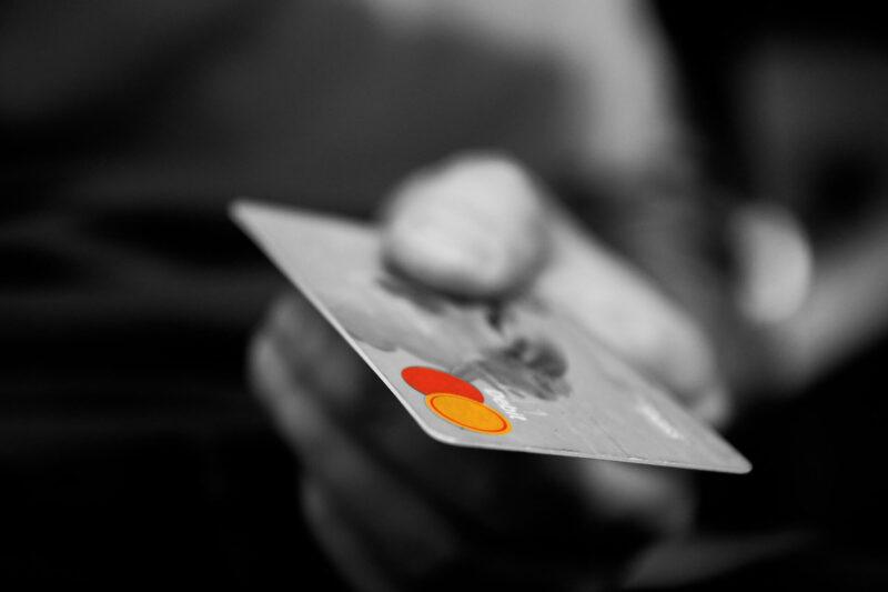 Kreditkarte Mietwagen