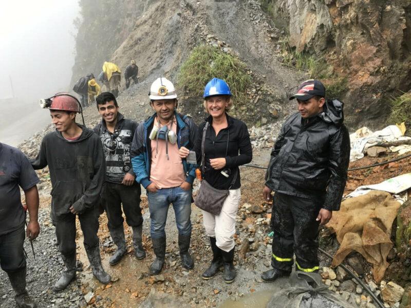 Kolumbien Mine Smaragde Chivor