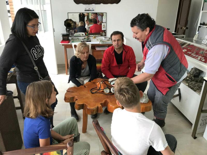 Hostal Anny Chivor Kolumbien