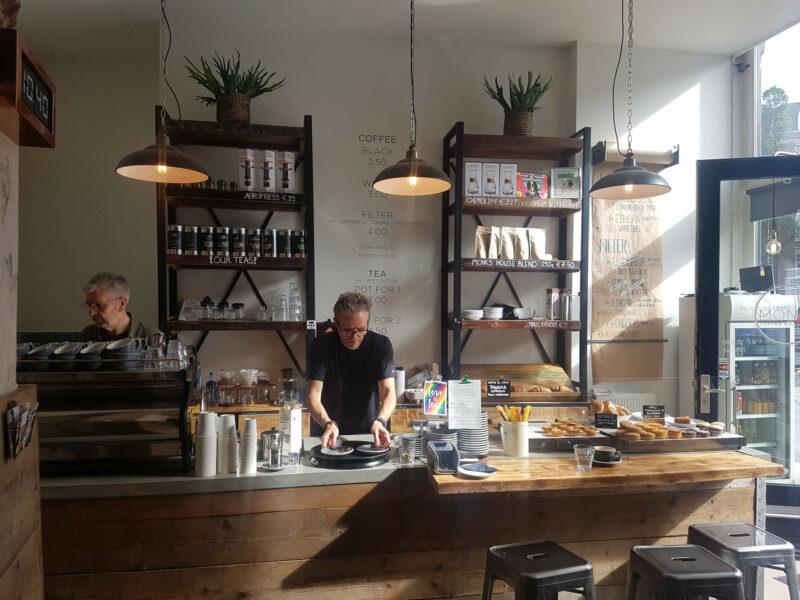 Kaffees in Amsterdam Monks Coffee Roasters
