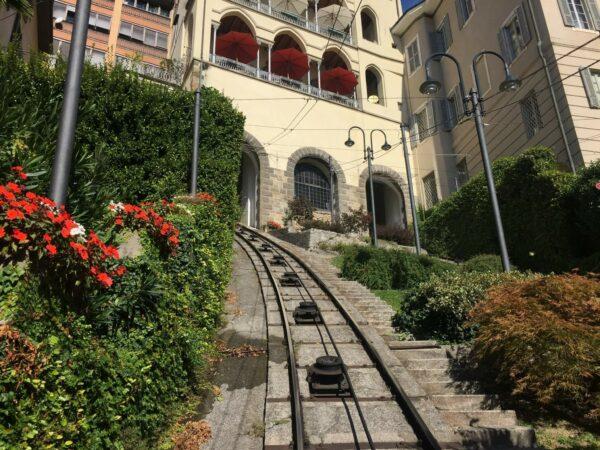 Bergamo Seilbahn