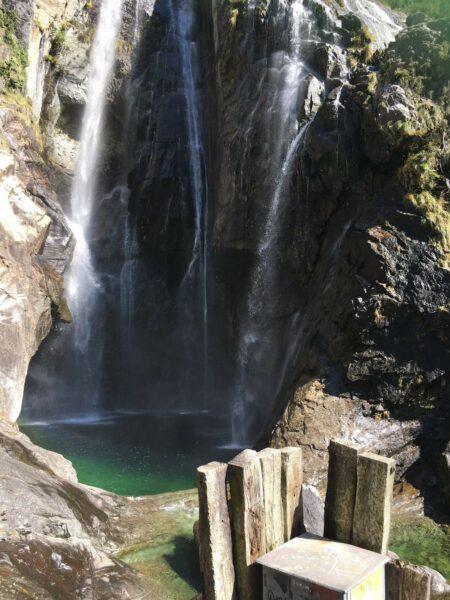 Tessin Wasserfall