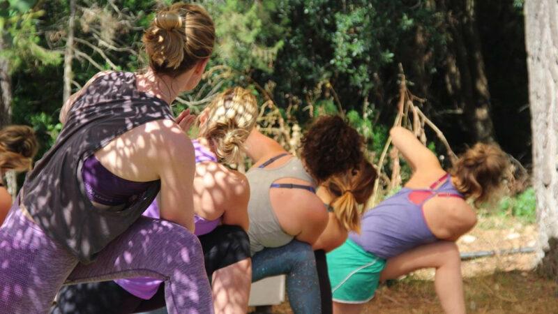 Yoga mit Baby Ibiza