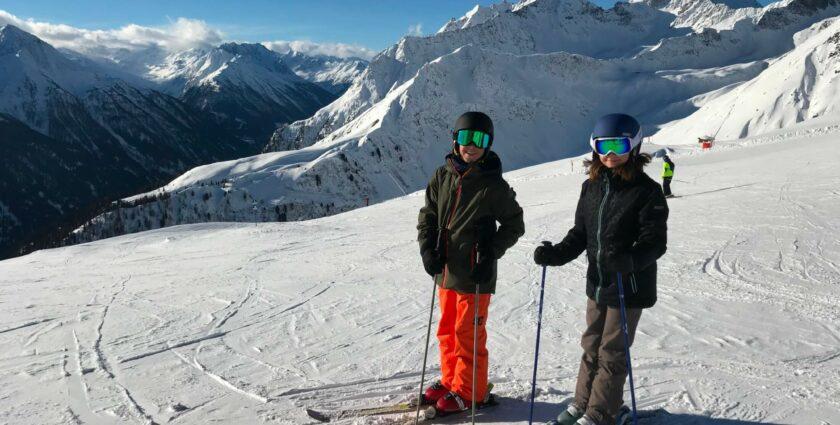 Klein aber oho: Die Skigebiete von Kappl und See in Tirol in Österreich