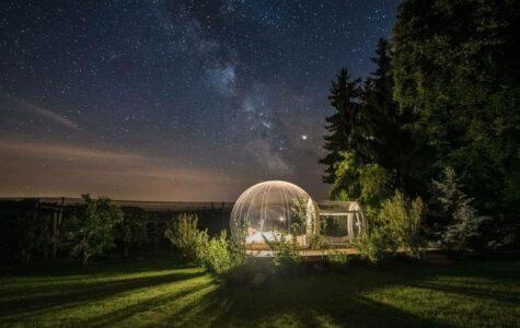 Das Bubble-Hotel oder ein Bett unter mostindischem Sternenhimmel