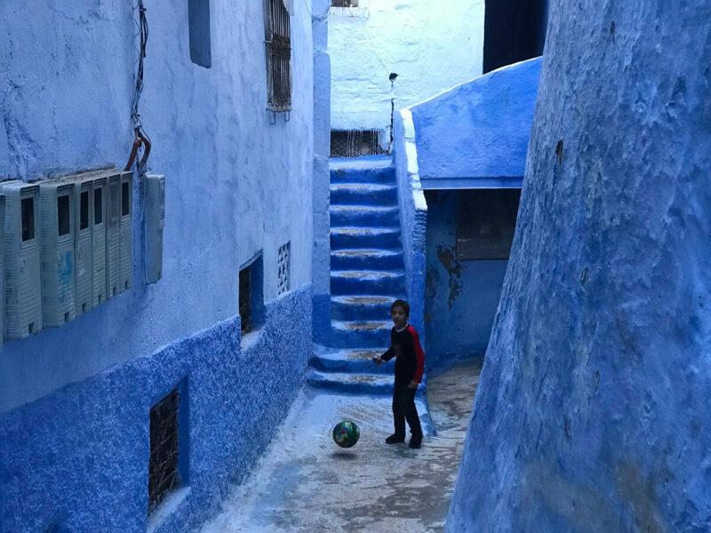 Chefchaouen Blue Pearl Morocco Marokko