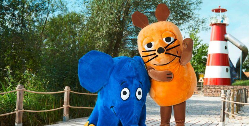 Zu Besuch bei Maus und Elefant im Ravensburger Spieleland