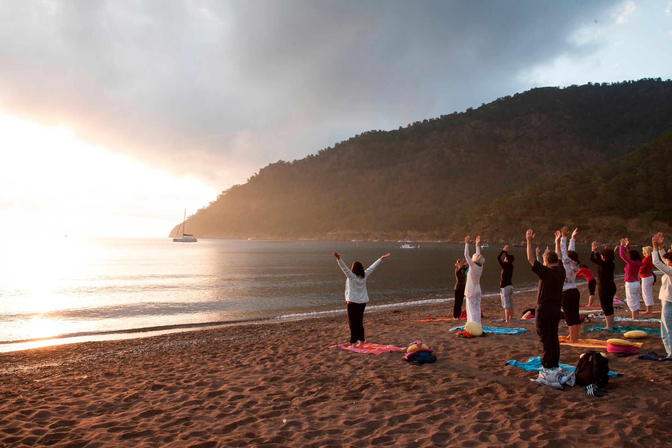 Yoga für unterwegs – wo \