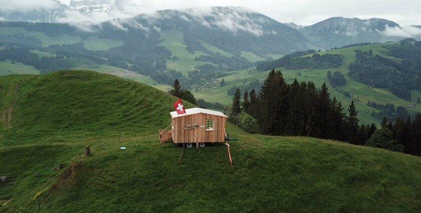 Alpen Britsche – ein Schlafzimmer an der frischen Luft
