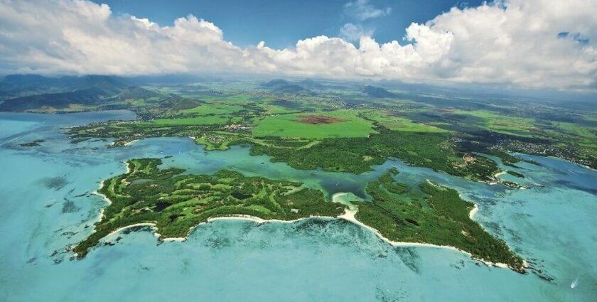 Die schönsten Golfplätze im Indischen Ozean