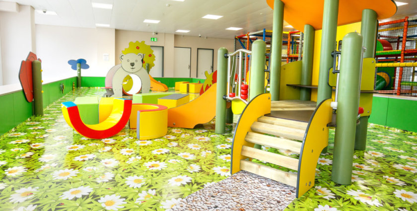 Austoben auf 2300 Quadratmetern – das ist der Indoor-Spielplatz Appenzellerpark