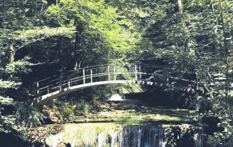 Tobellandschaften und Wasserfälle im Kanton Zürich