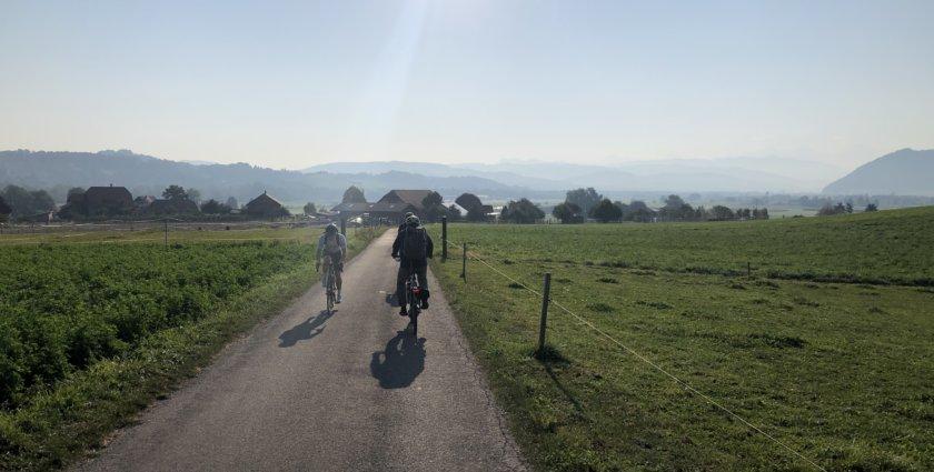 Velowandern rund um Bern