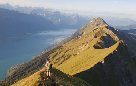Gratwanderung vom Brienzer Rothorn zum Harder Kulm