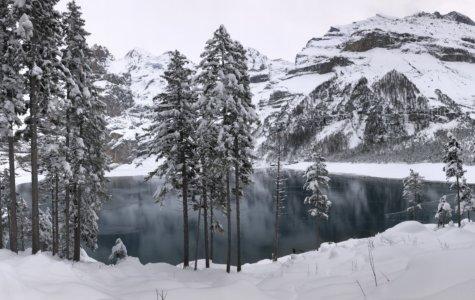 Winterzauber am Oeschinensee